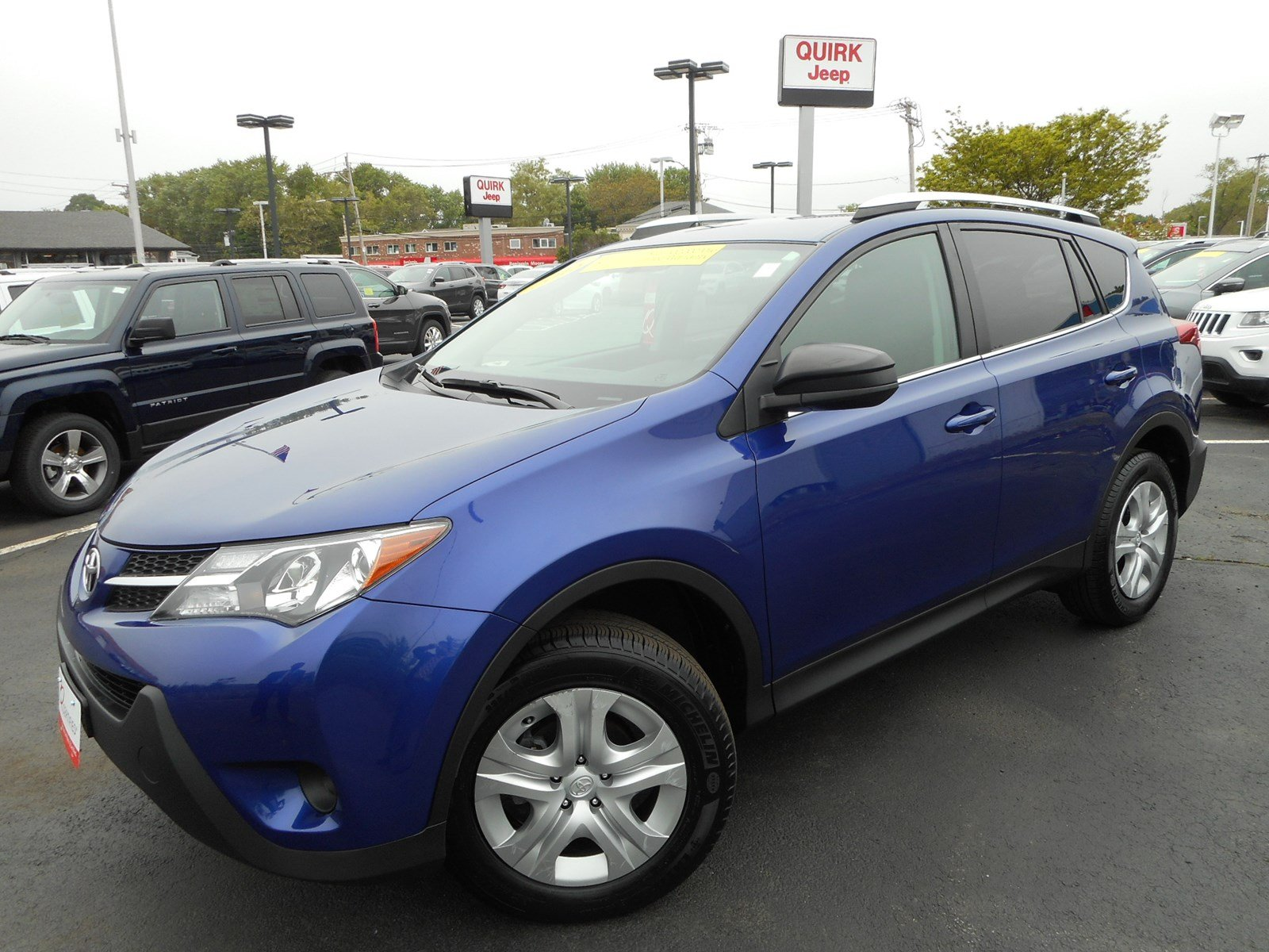 certified pre owned 2015 toyota rav4 le sport utility in boston cj1409a quirk jeep dorchester. Black Bedroom Furniture Sets. Home Design Ideas